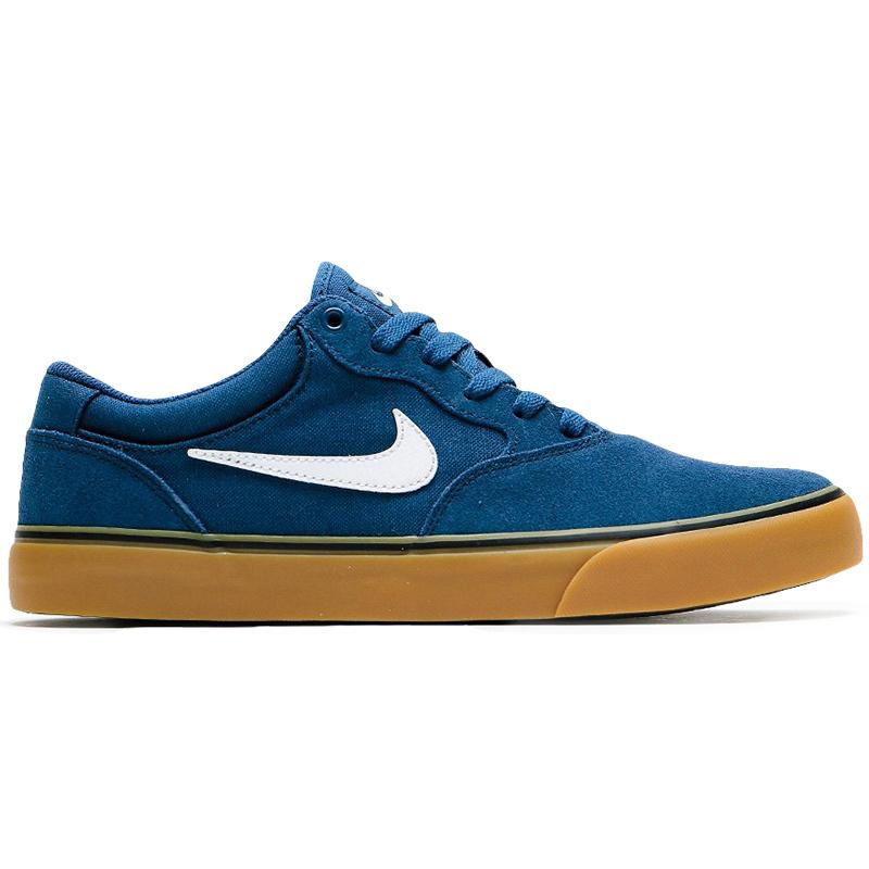Nike SB Chron 2 Navy/White/Navy/Gum Light Brown