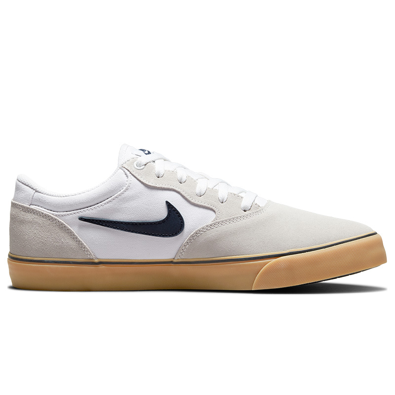 Nike SB Chron 2 White/Obsidian/White/Gum Light Brown
