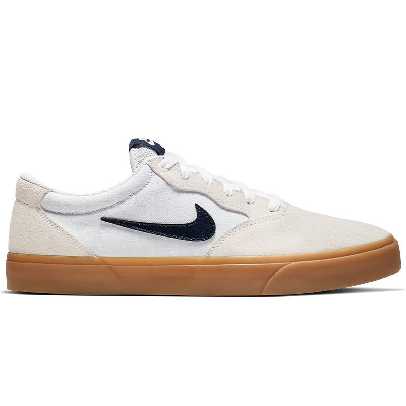 Nike SB Chron Slr White/Obsidian/White/White