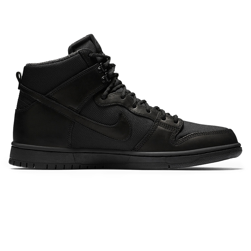 Nike SB Dunk High Pro Bota Black/Black/Anthracite
