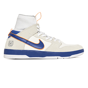 Nike SB X Medicom Dunk High Elite QS White/College Blue/White Gold Post