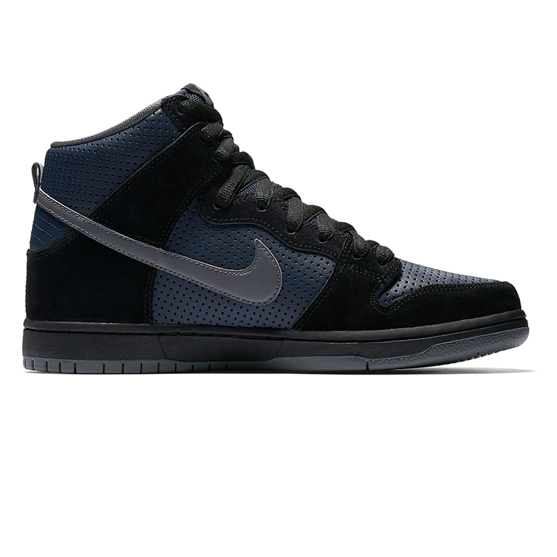 Nike SB Dunk High Gino Iannucci Black/Light Graphite