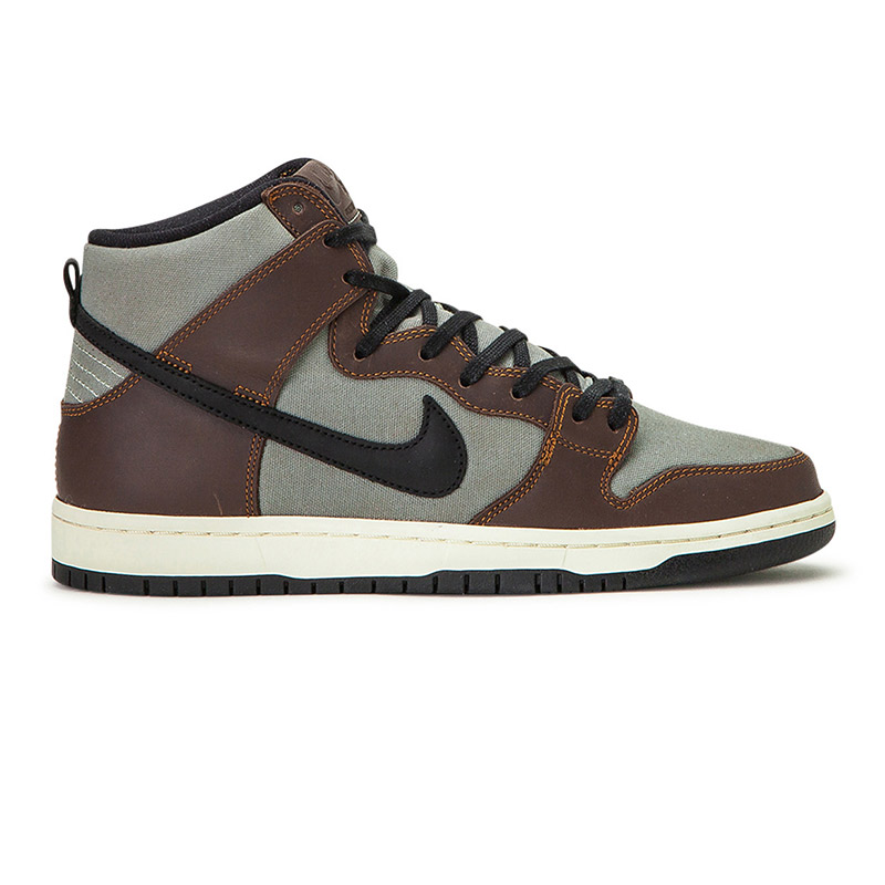 Nike SB Dunk High Pro Baroque Brown/Black/Jade Horizon