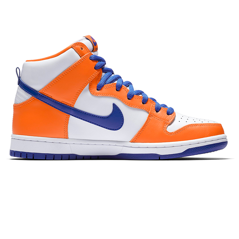 Nike SB Dunk High TRD Safety Orange/Hyper Blue-White