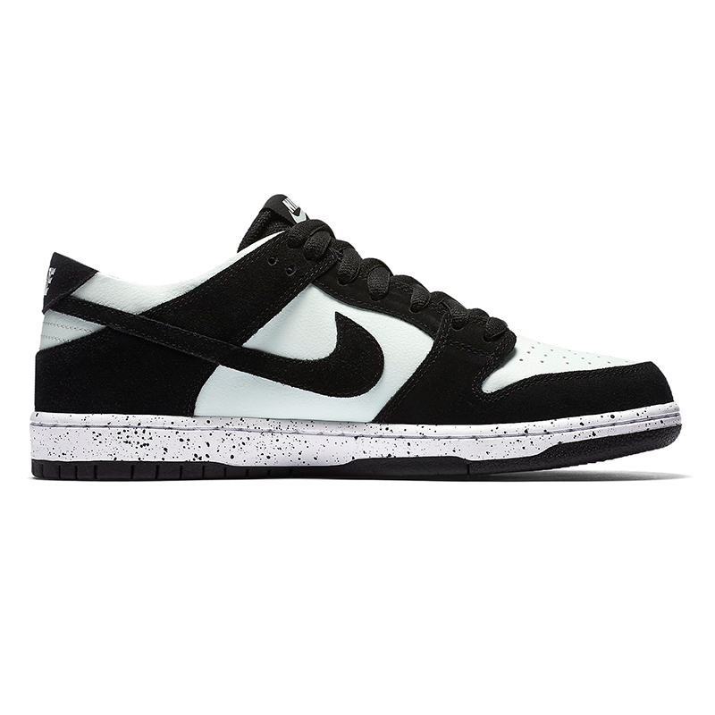 Nike SB Dunk Low Pro Black/Black/Barely Green/White