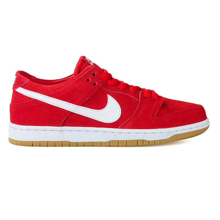 Nike SB Dunk Low Pro Ishod Wair University Red/White Gum Light Brown