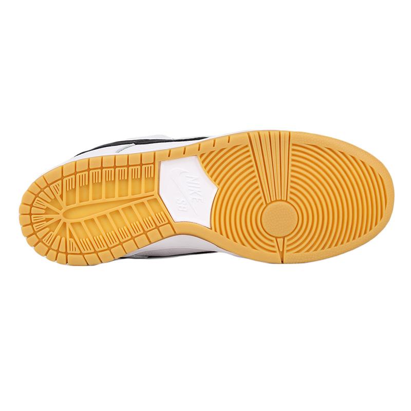 0374dc6d0d763 Nike SB Dunk Low Pro Iso White Black White Gum Light Brown. undefined.  Loading zoom