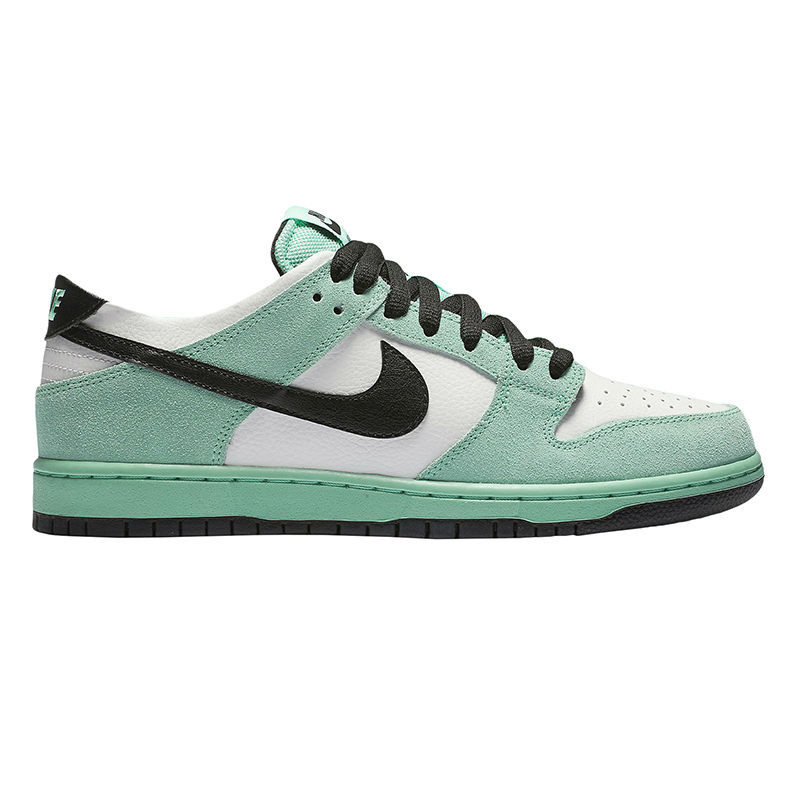Nike SB Dunk Low Pro Iw Green Glow/Black Summit White