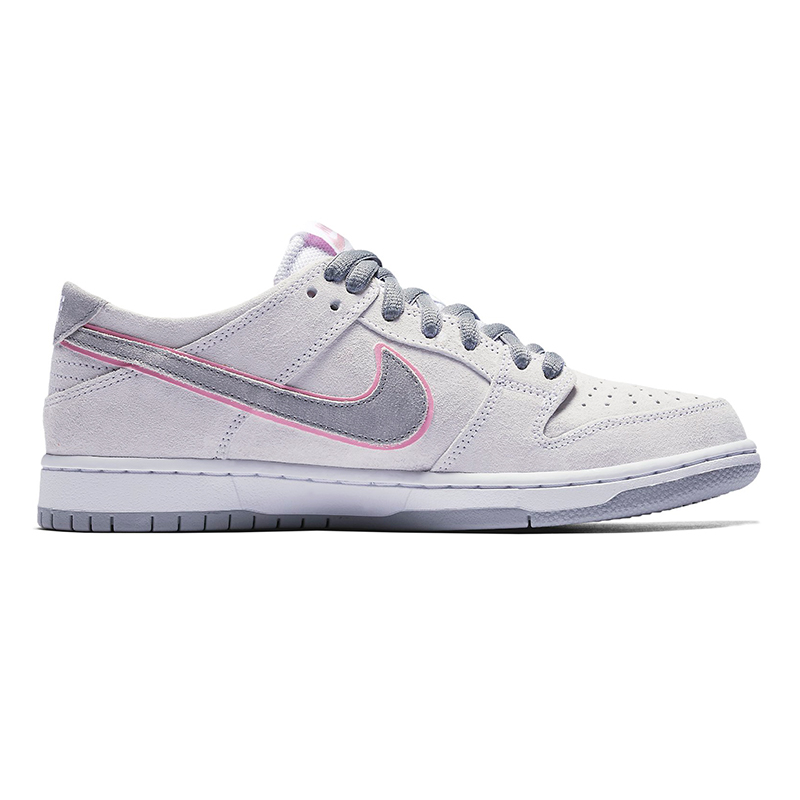 Nike SB Dunk Low Pro Ishod Wair White/Perfect Pink/Flt Silver