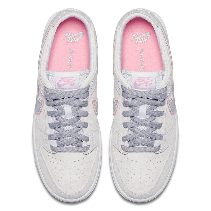 best loved cfc38 6a688 Nike SB Dunk Low Pro Ishod Wair White Perfect Pink Flt Silver. undefined.  Loading zoom