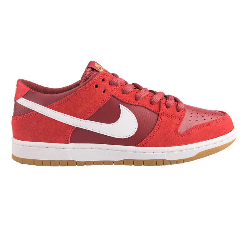 99a941d483a3 ... Nike SB Dunk Low Pro Track RedWhiteCedar GumLight Brown ...
