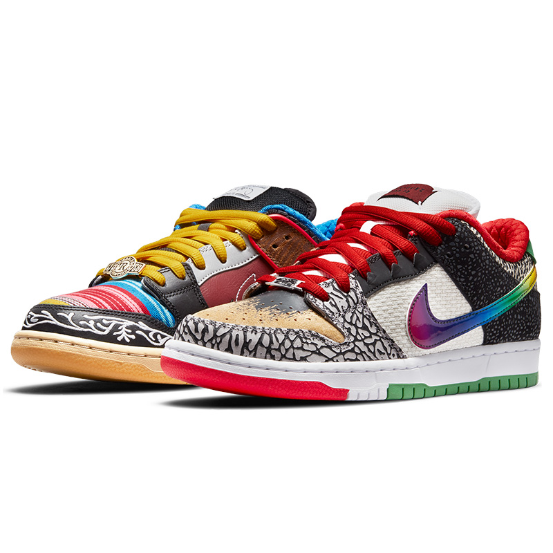 Nike SB Dunk Low What The P-Rod Sport Red/Black/Varsity/Maze/Volt