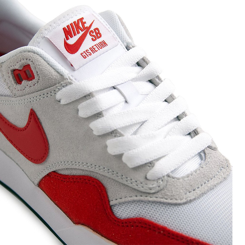Nike SB GTS Return Premium Sport RedSport RedPure PlatinumBlack