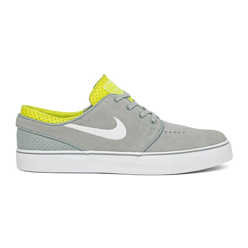 Nike SB Janoski Base Grey/White/Venom Green