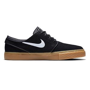 Nike SB Janoski Black/White/Gum Light Brown