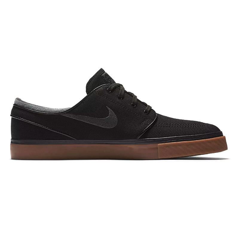 Nike SB Janoski Canvas Black/Anthracite Gum/Medium Brown