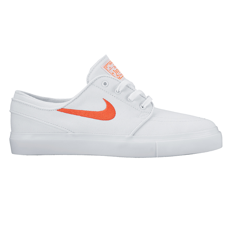 Nike SB Janoski Canvas Capsule White/Max Orange/White