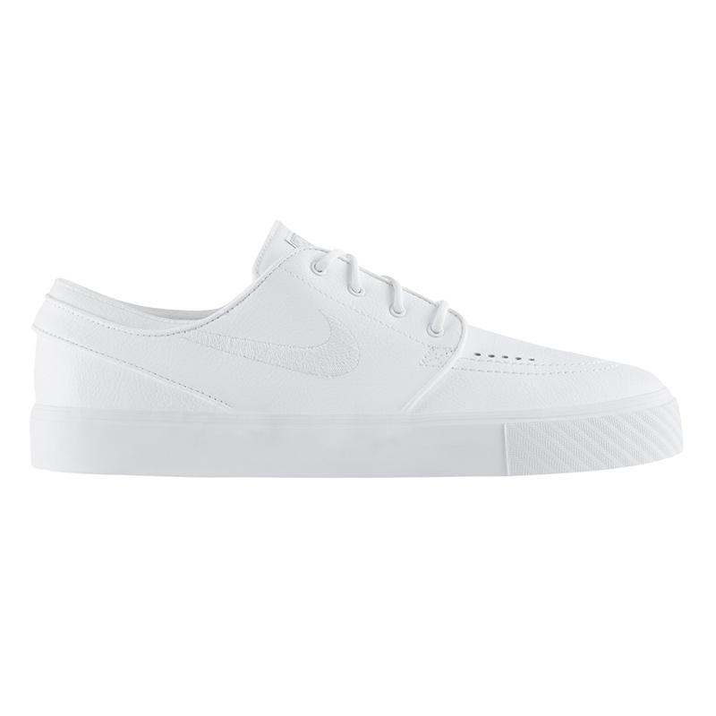 Nike SB Janoski Leather White/White/Wolf Grey