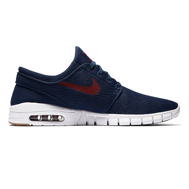 Nike SB Janoski Max Binary Blue/Team Red/Gum Light Brown