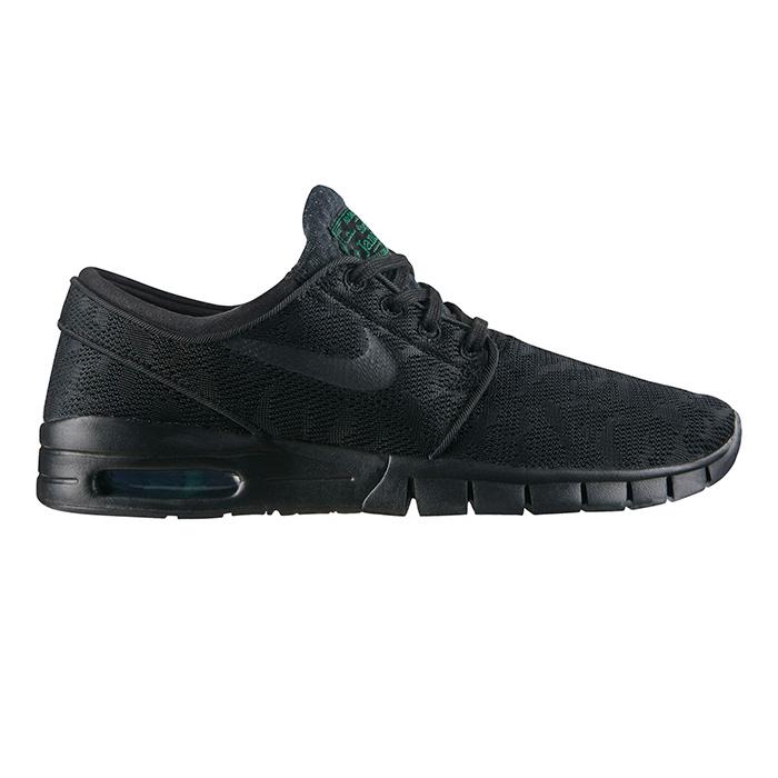 Nike SB Janoski Max Black/Black/Pine Green