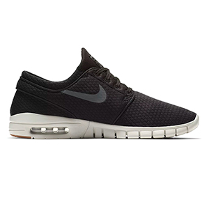 Nike SB Janoski Max Black/Dark Grey Gum/Medium Brown/Light Bone