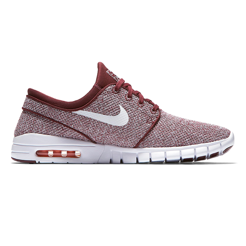Nike SB Janoski Max Dark Team Red/White/Circuit Orange