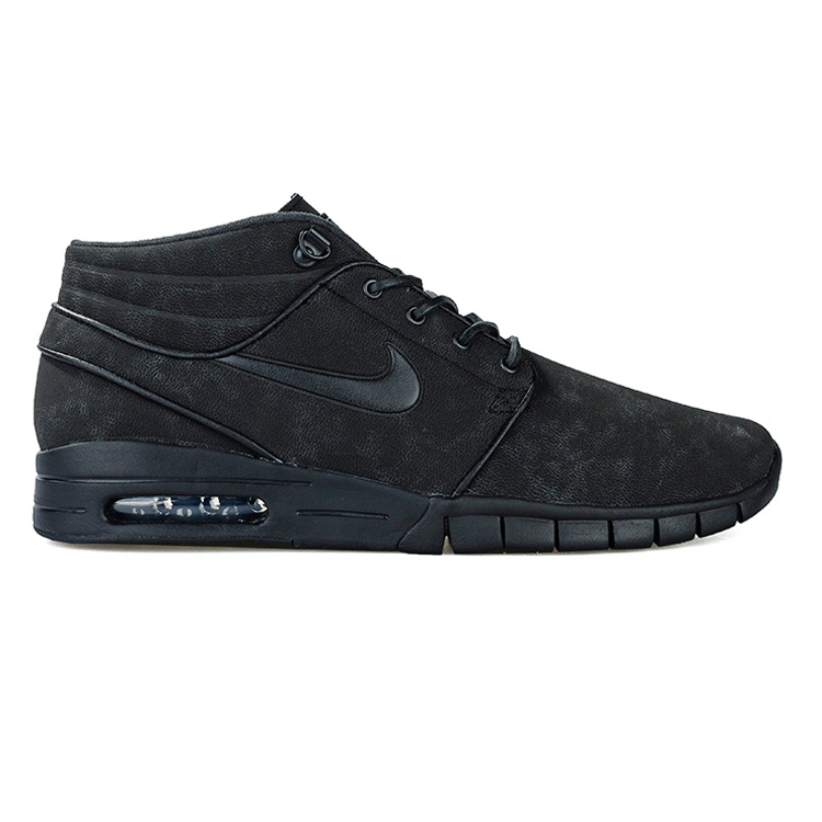Nike SB Janoski Max Mid Leather Black/Black/Anthracite