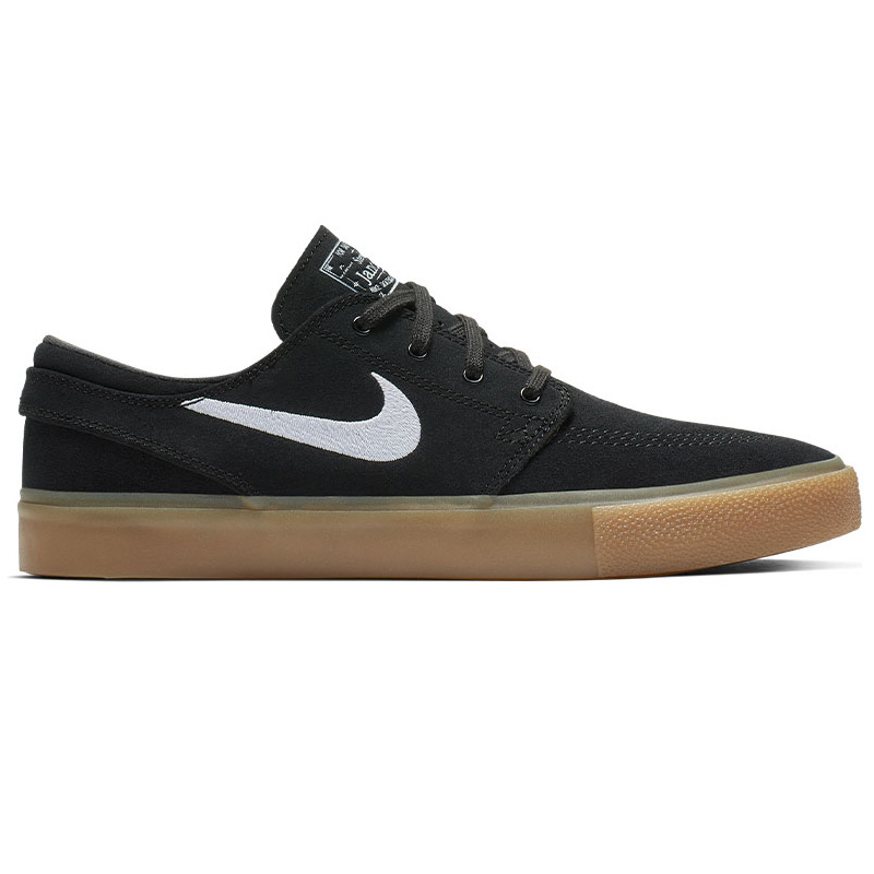 Nike SB Janoski Rm Black/White/Black/Gum Light Brown