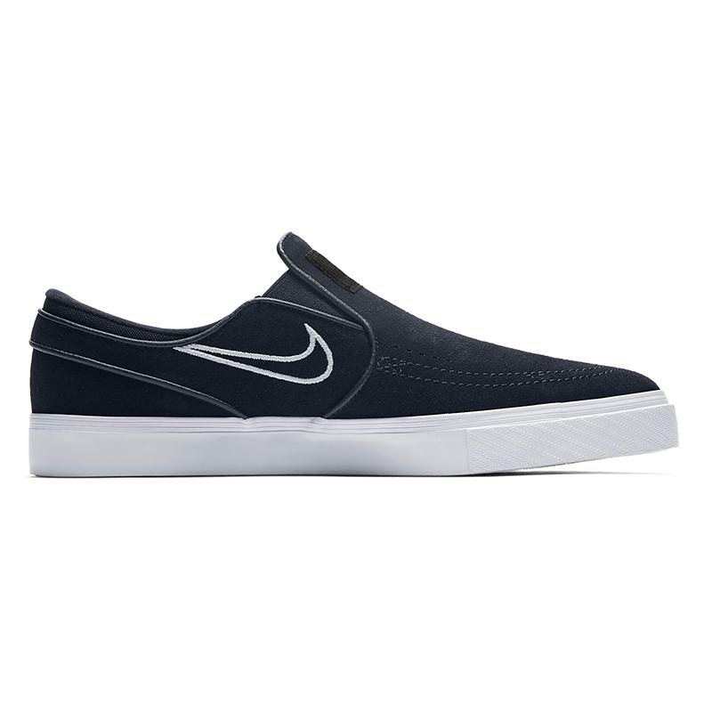 Nike SB Janoski Slip On Black/Light Bone/White