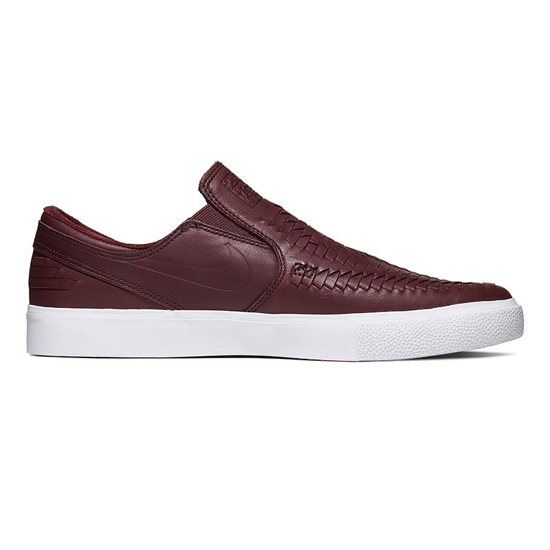 Nike SB Janoski Slip On RM Crafted Mahogany/Mahogany/White/Gum Light Brown