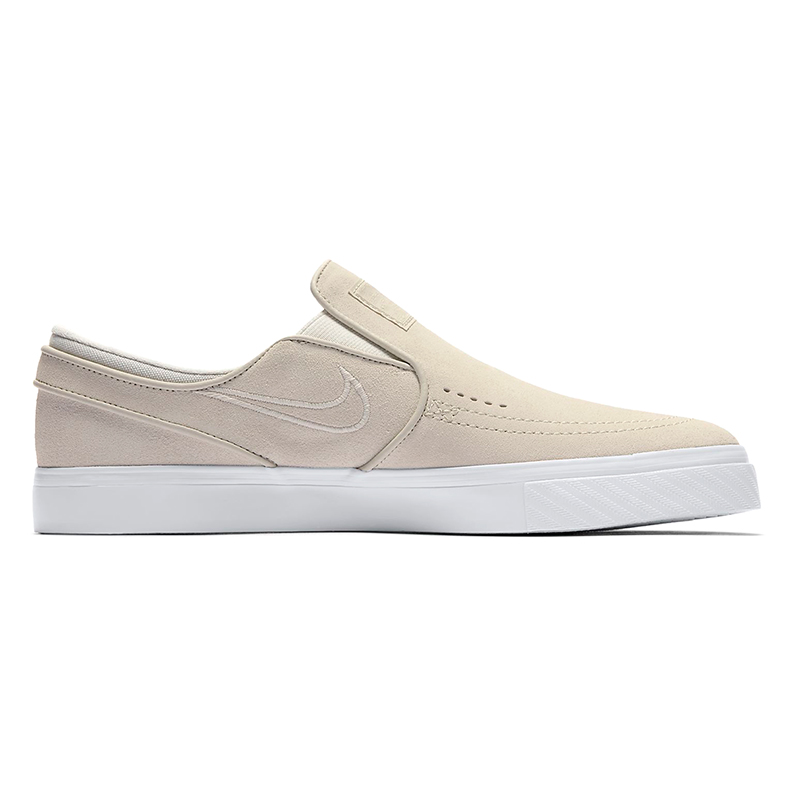 Nike SB Janoski Slip On White/Light Bone/White