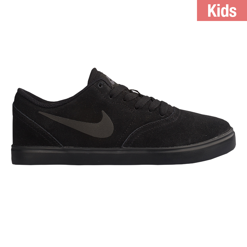 Nike SB Kids Check Suede Black/Black/Anthracite