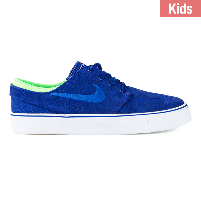 Nike SB Kids Janoski Deep Royal Blue/Gum Royla/Green