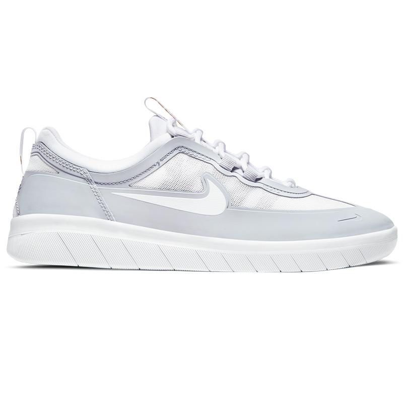 Nike SB Nyjah Free 2 Sky Grey/White/Sky Grey/Metallic Gold