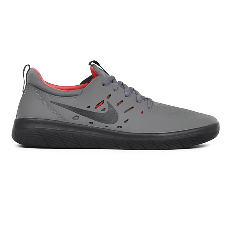 Nike SB Nyjah Free Dark Grey/Black/Gym Red