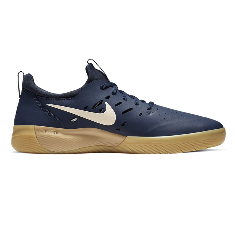 Nike SB Nyjah Free Midnight Navy/Summit White/Midnight Navy