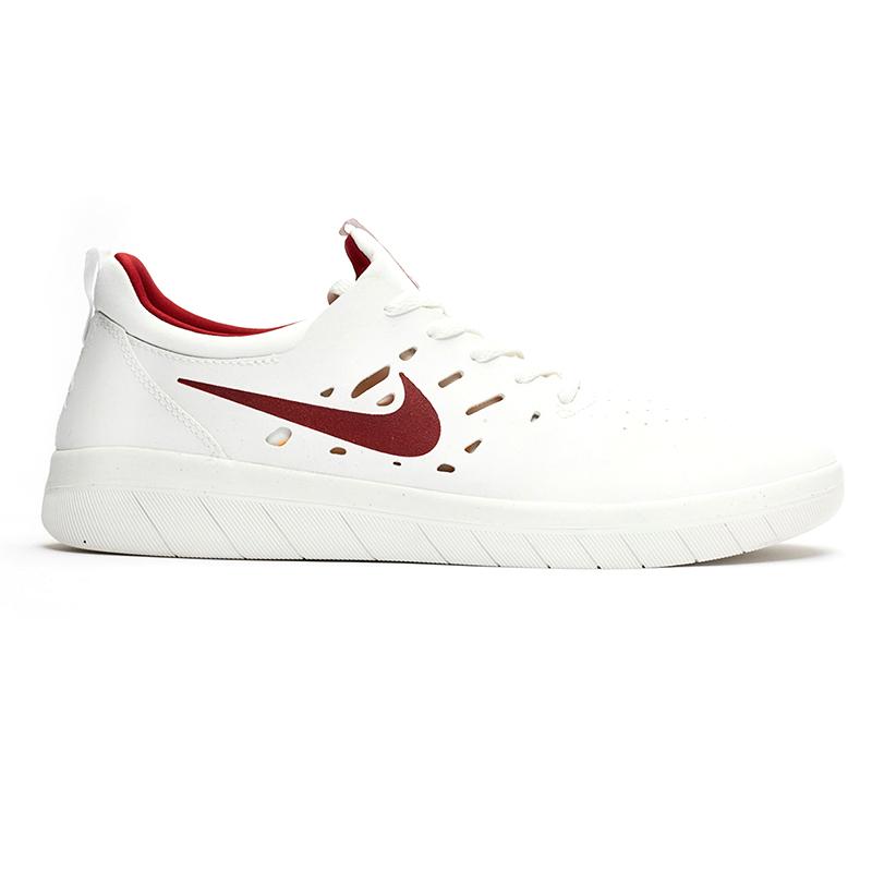 2399ae0accfd Nike SB Nyjah Free Summit White Team Cr Mens US 8.5 - Eur 42 ...