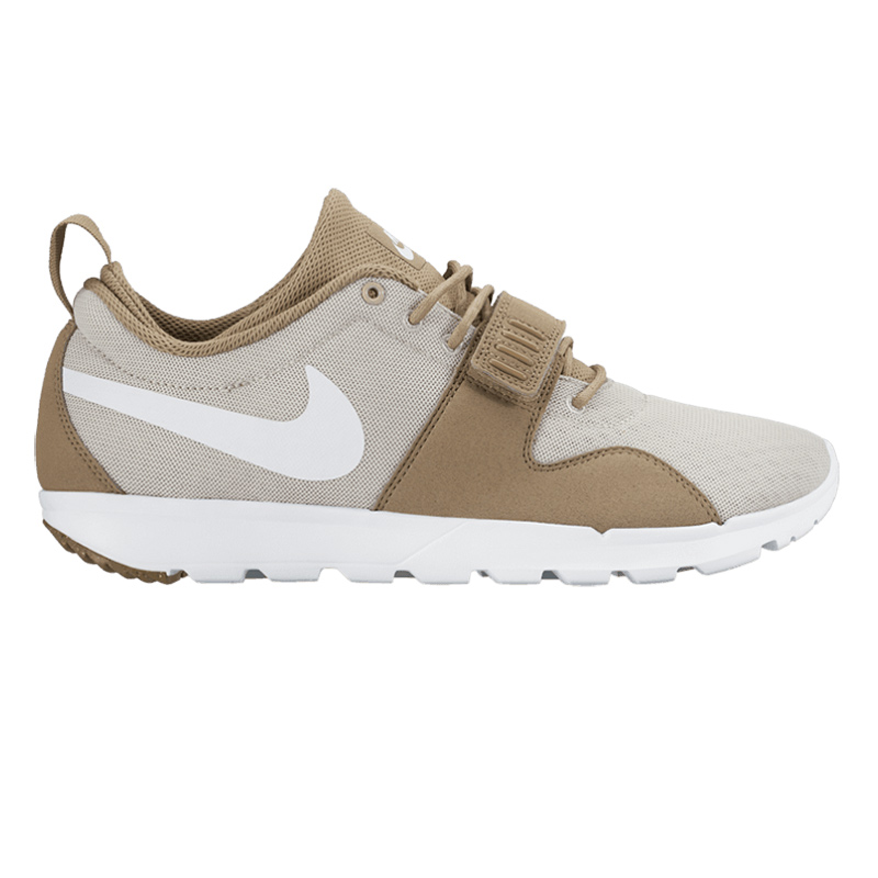 Nike SB Trainerendor Khaki/White/Light Brown Gum/Light Brown