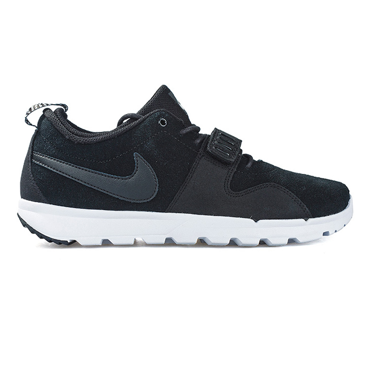Nike SB Trainerendor Leather Black/Black/White