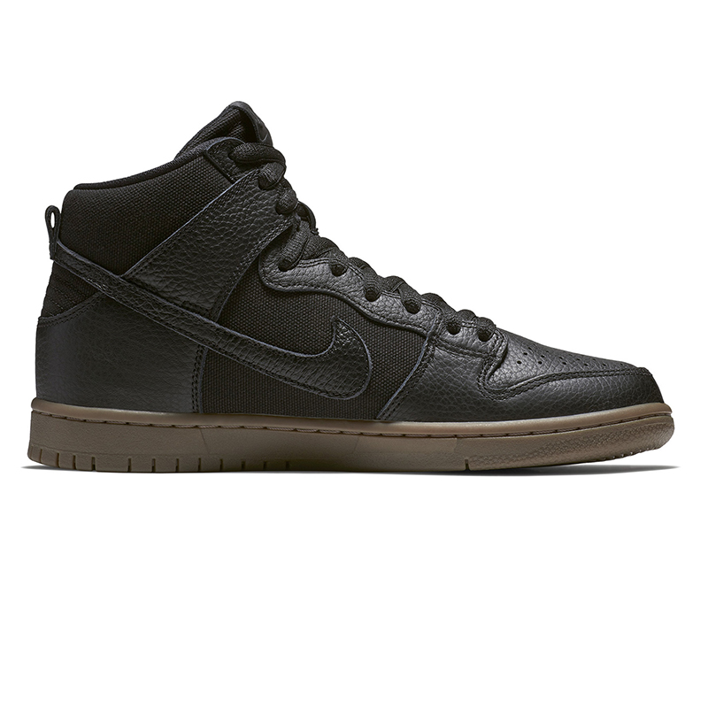 cd5261b77828 undefined. Loading zoom. Nike SB X Anti Hero Dunk High Pro Black Black  Anthracite Gum Dark Brown