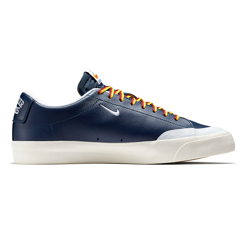 Nike SB X Quartersnacks Blazer Low XT Navy/White Sail