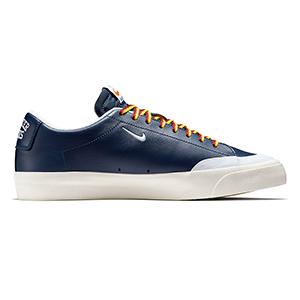 Nike SB X Quartersnacks Blazer Low XT Navy/White Sail