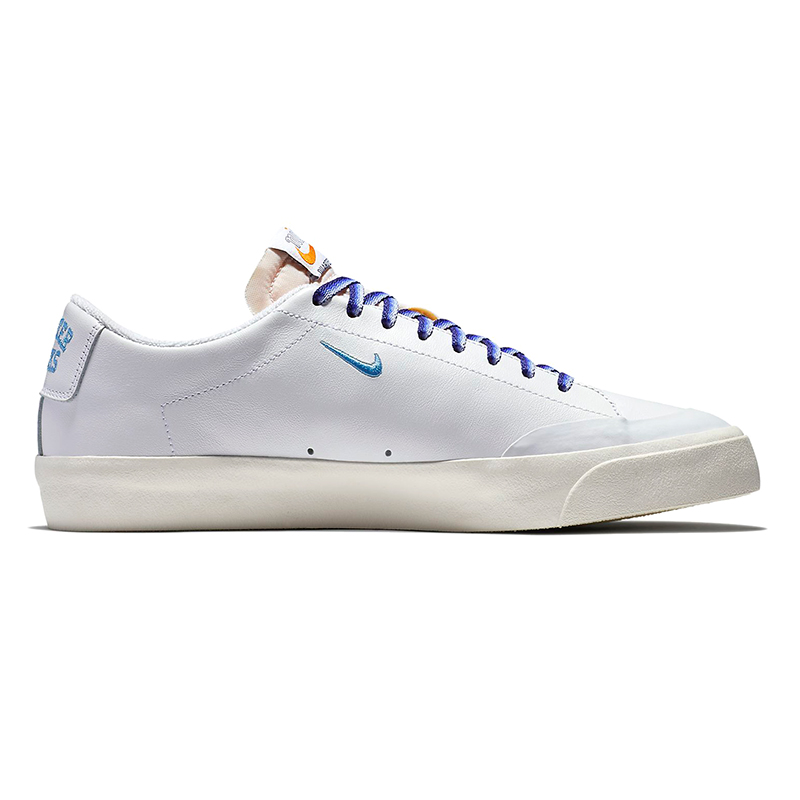 Nike SB X Quartersnacks Blazer Low XT White/University Blue/Sail