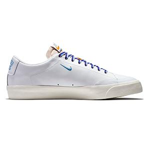 Nike SB X Quartersnacks Blazer Low XT White/University Blue/Sail