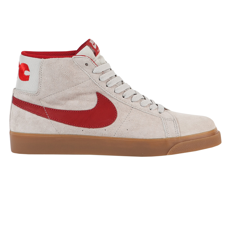 Nike SB Blazer Mid FTC Light Bone/Brickhouse-Gum