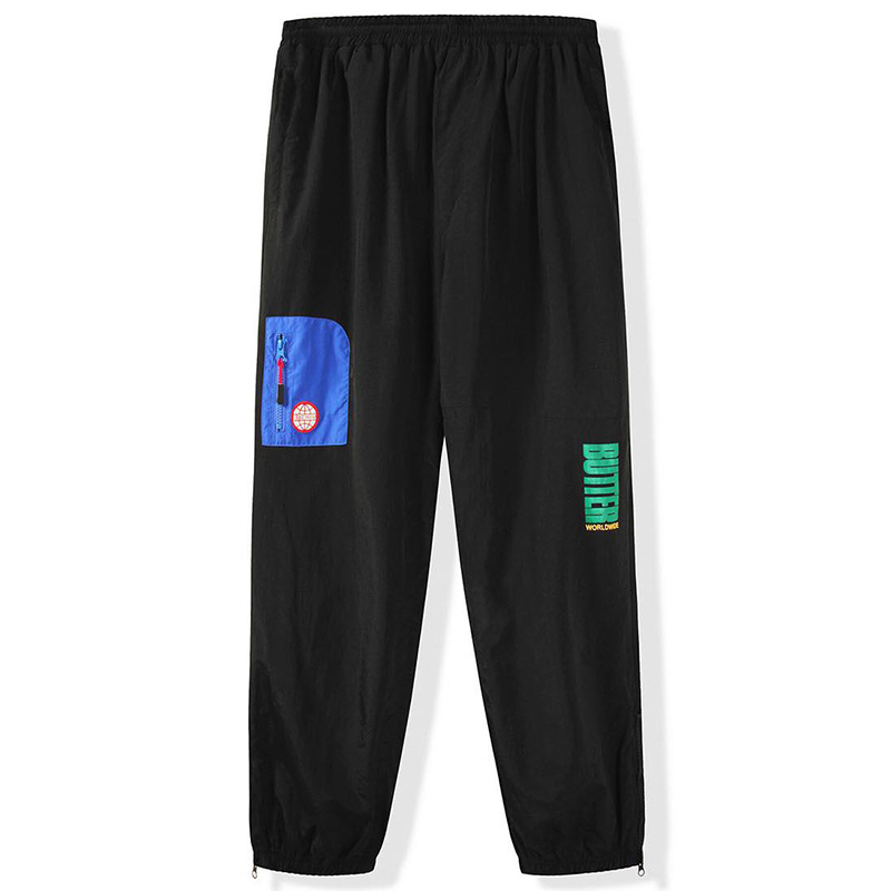 Butter Goods Foley Tracksuit Pants Black