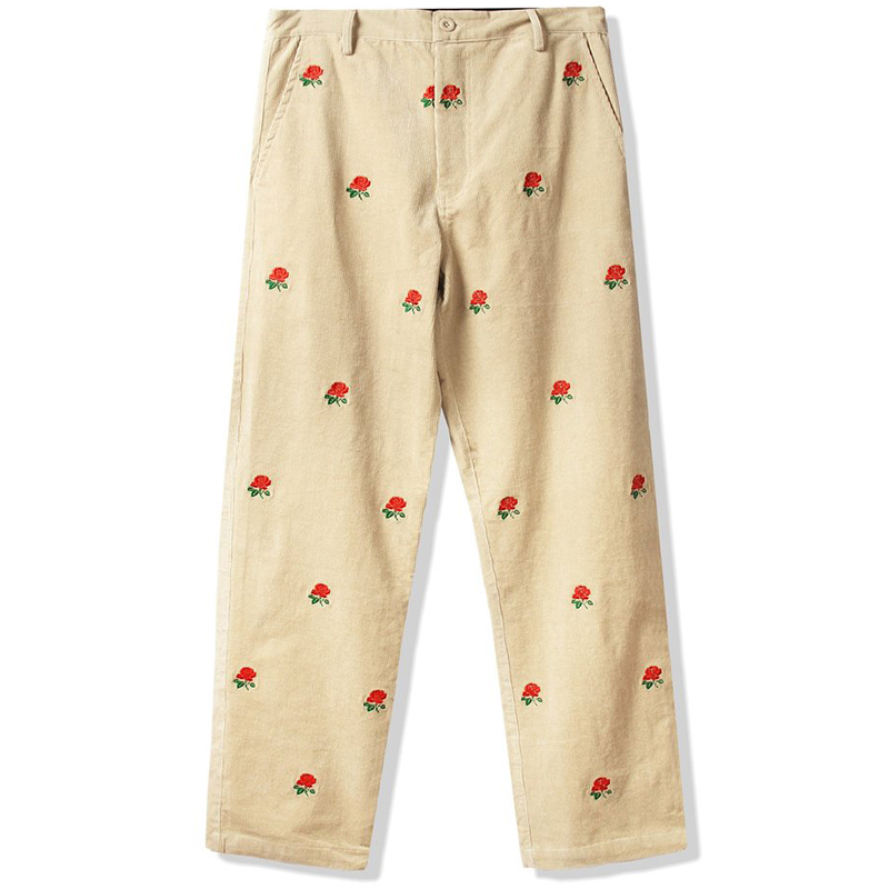 Butter Goods Rose Corduroy Pants Off White