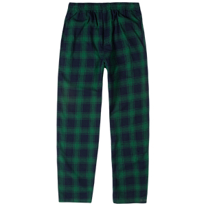 Butter Goods Tartan Casual Pants Navy/Green