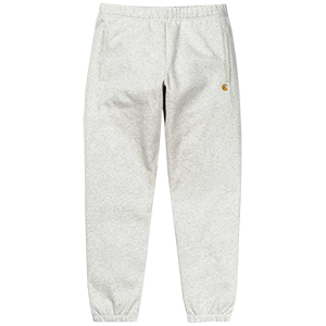 Carhartt Chase Sweat Pants Ash Heather/Gold