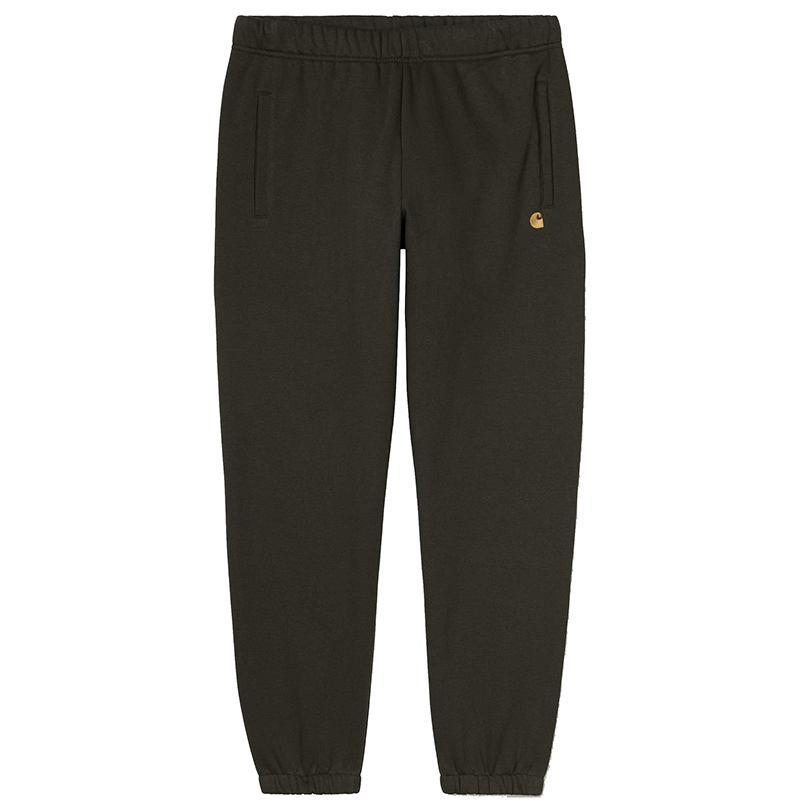 Carhartt Chase Sweat Pants Cypress/Gold